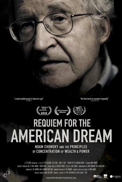 Requiem for the American Dream * February 2 * Bijou Art Cinemas * 6pm @ Bijou Art Cinemas  | Eugene | Oregon | United States